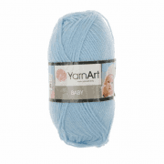 Пряжа YarnArt Baby Цвет.215 Голубой
