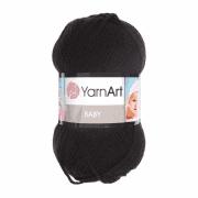 Пряжа YarnArt Baby Цвет.585 Черный
