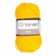 Пряжа YarnArt Baby Цвет.586 Апельсиновый