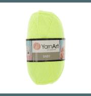 Пряжа YarnArt Baby Цвет.8232 Яр.лимонный