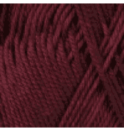 Пряжа YarnArt Begonia Цвет.0112 Темно бордовый