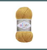 Пряжа Alize Diva Цвет.488 Т.желтый