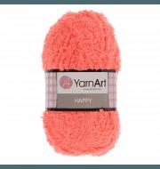 Пряжа YarnArt Happy Цвет.787 Коралловый