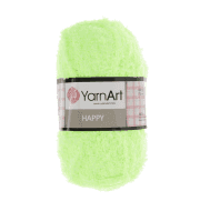 Пряжа YarnArt Happy Цвет.788 Салатовый
