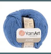 Пряжа YarnArt Jeans Цвет.17 Темно синий