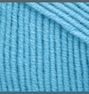 Пряжа YarnArt Jeans Цвет.33 Бирюзовый