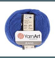 Пряжа YarnArt Jeans Цвет.47 Ультрамарин