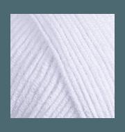 Пряжа YarnArt Jeans Цвет.62 Белоснежный