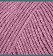Пряжа YarnArt Jeans Цвет.65 Пыльная роза