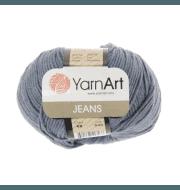 Пряжа YarnArt Jeans Цвет.68 Светлый джинс
