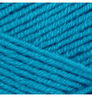 Пряжа YarnArt Merino De Luxe Цвет.235 Голубая бирюза