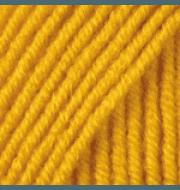 Пряжа YarnArt Merino De Luxe Цвет.586 Желтый