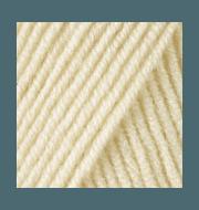 Пряжа YarnArt Merino De Luxe Цвет.7003 Молочный