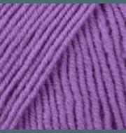 Пряжа YarnArt Merino De Luxe Цвет.9561 Сиреневый