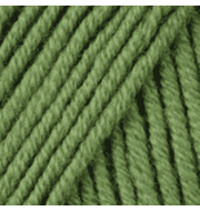 Пряжа YarnArt Merino De Luxe Цвет.98 Зеленый