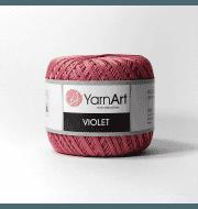 Пряжа YarnArt Violet Цвет.0075 Розово лиловый