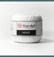 Пряжа YarnArt Violet Цвет.1000 Отбелка