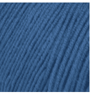 Пряжа Пехорка Детская объёмная Цвет.112 Арктика