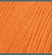 Пряжа Пехорка Детская объёмная Цвет.284 Оранжевый