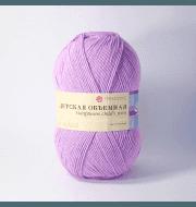 Пряжа Пехорка Детская объёмная Цвет.29 Розовая сирень