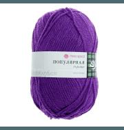 Пряжа Пехорка Популярная Цвет.78 Фиолетовый