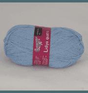 Пряжа Семеновская Лидия кватро Цвет.Голубой 3