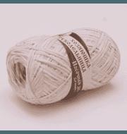 Пряжа Хозяюшка-рукодельница Носочная добавка Цвет. Белый меланж