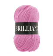 Пряжа VITA Brilliant Цвет.4956 Розовый