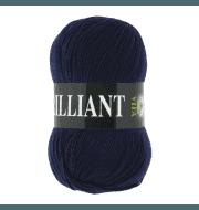 Пряжа VITA Brilliant Цвет.4990 Темно-синий
