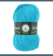 Пряжа VITA Brilliant Цвет.4993 Голубая бирюза