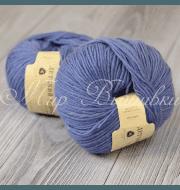 Пряжа Пехорка Детский каприз Цвет.15 Темно-голубой