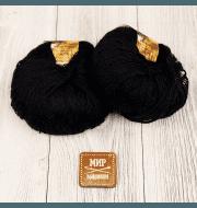 Пряжа Seam Alpaca de Italia Цвет.01 Чёрный