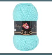 Пряжа Magic Baby Joy Цвет.5707 Светлая зеленая бирюза
