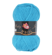Пряжа Magic Baby Joy Цвет.5708 Голубая бирюза