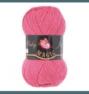 Пряжа Magic Baby Joy Цвет.5716 Ярко-розовый