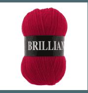 Пряжа VITA Brilliant Цвет.4968 Красный