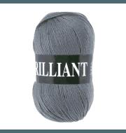 Пряжа VITA Brilliant Цвет.4980 Серый