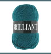 Пряжа VITA Brilliant Цвет.4981 Темная зеленая бирюза