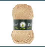 Пряжа VITA Brilliant Цвет.5108 Топленое молоко