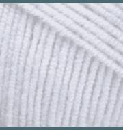 Пряжа YarnArt Jeans Цвет.01 Белый