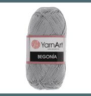 Пряжа YarnArt Begonia Цвет.5326 Стальной