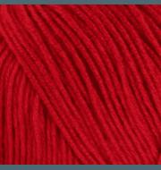 Пряжа Пехорка Кружевная Цвет.06 Красный