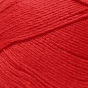 Пряжа Пехорка Хлопок натуральный Цвет.06 Красный