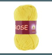 Пряжа VITA Rose Цвет.3916 Светло-желтый