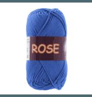 Пряжа VITA Rose Цвет.3931 Ярко-синий
