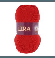 Пряжа VITA Lira Цвет.5033 Красный