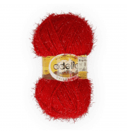 Пряжа Adelia Brilliant 05 красный