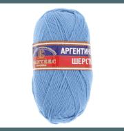 Пряжа Камтекс Аргентинская шерсть 100 г Цвет.15 Голубой