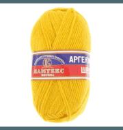 Пряжа Камтекс Аргентинская шерсть 100 г Цвет.104 Желтый