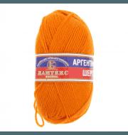 Пряжа Камтекс Аргентинская шерсть 100 г Цвет.35 Оранжевый